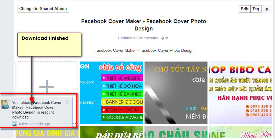 Learn How to Download your Photo Albums from Facebook very