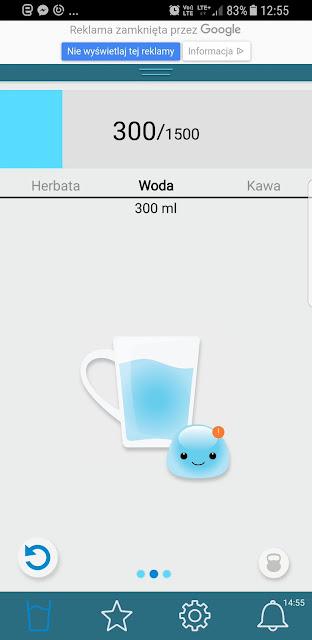 Jak aplikacja przkeonała mnie do picia wody?