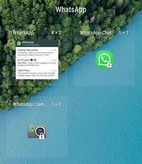 Find WhatsApp unread messages