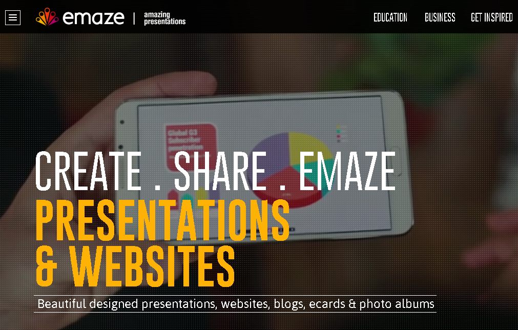 7 professional websites to make online presentations with ease