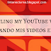 Subtitling my YouTube videos / Subtitulando mis videos en Youtube