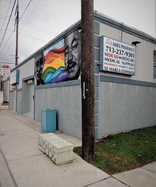 3030 Canal St, Houston, TX 77003 - MLK Mural at Amex Pharmacy