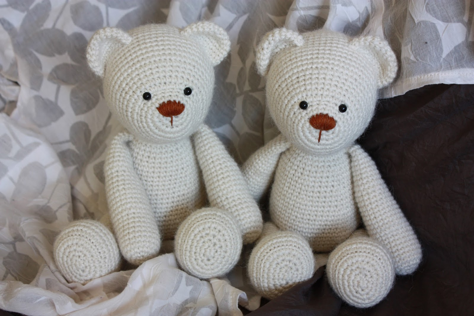 Amigurumi To Go Teddy Bear : Amigurumi creations by Happyamigurumi