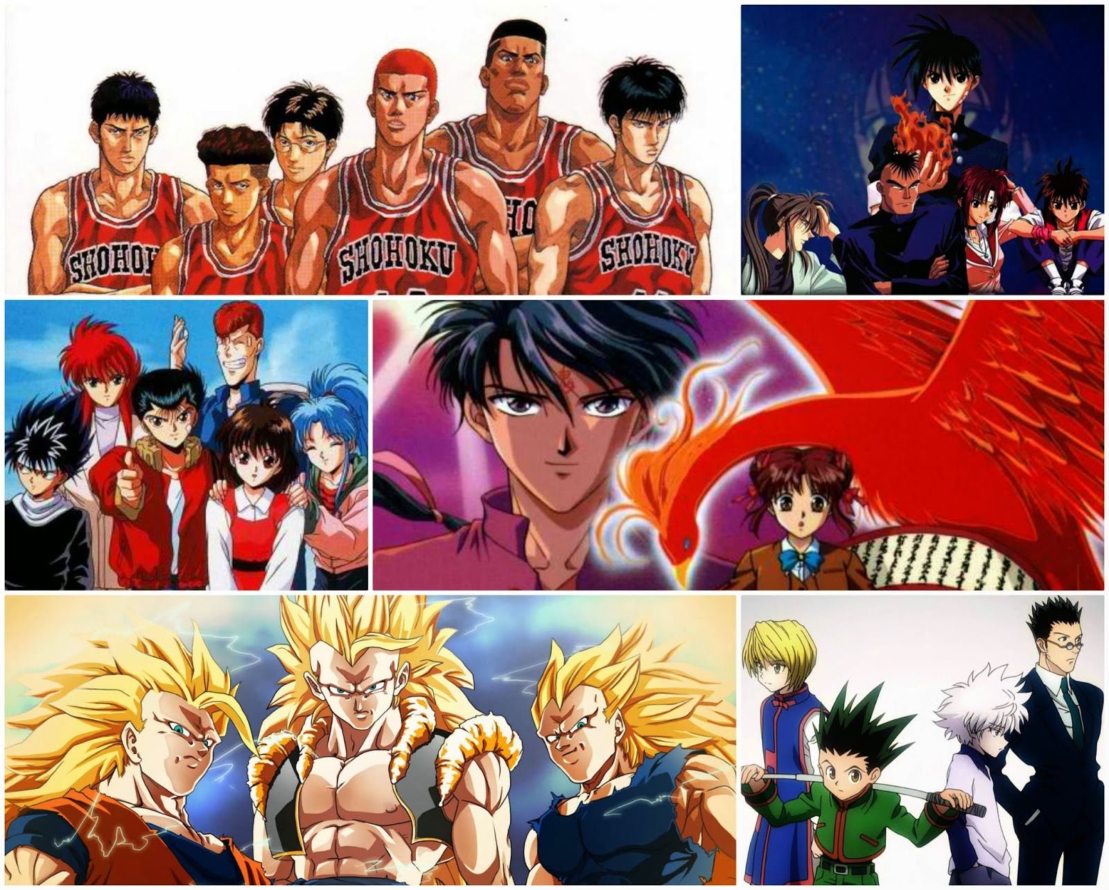 list of much loved childhood anime series