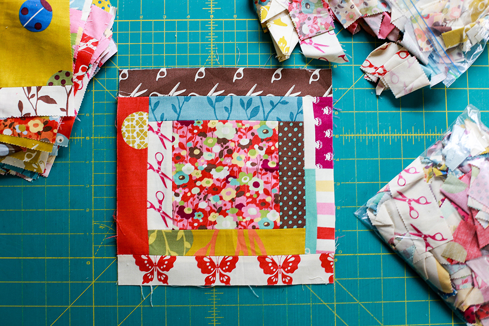 Log Cabin Quilt Pattern With Jelly Roll