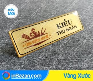 thẻ tên nhân viên Vàng Xước, bảng tên nhân viên Vàng Xước, in bảng tên nhân viên Vàng Xước