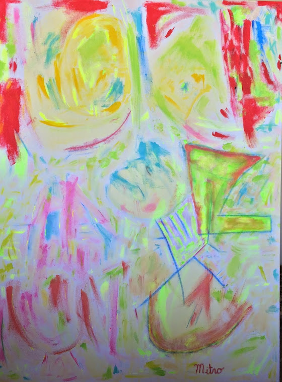 "Circus   36"" by 48""    $2,000,000"