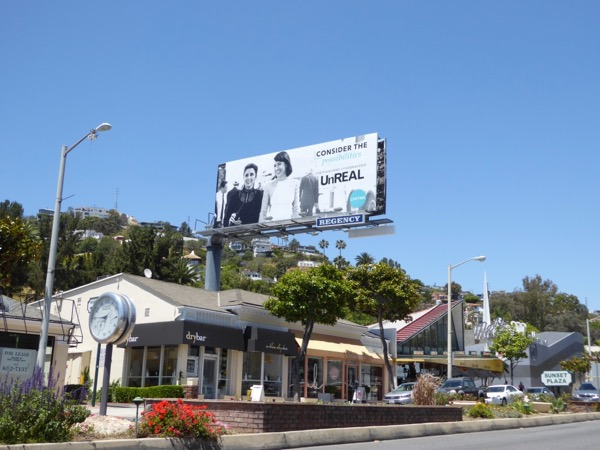 UnREAL 2017 Emmy FYC billboard