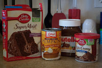 Chocolate Pumpkin Muffin Ingredients