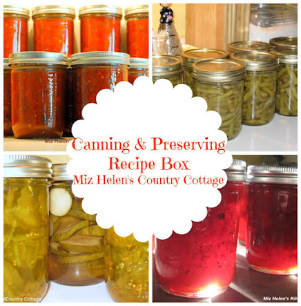Canning and Preserving Recipe Box