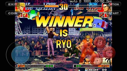 baixar the king of fighters 97 para android