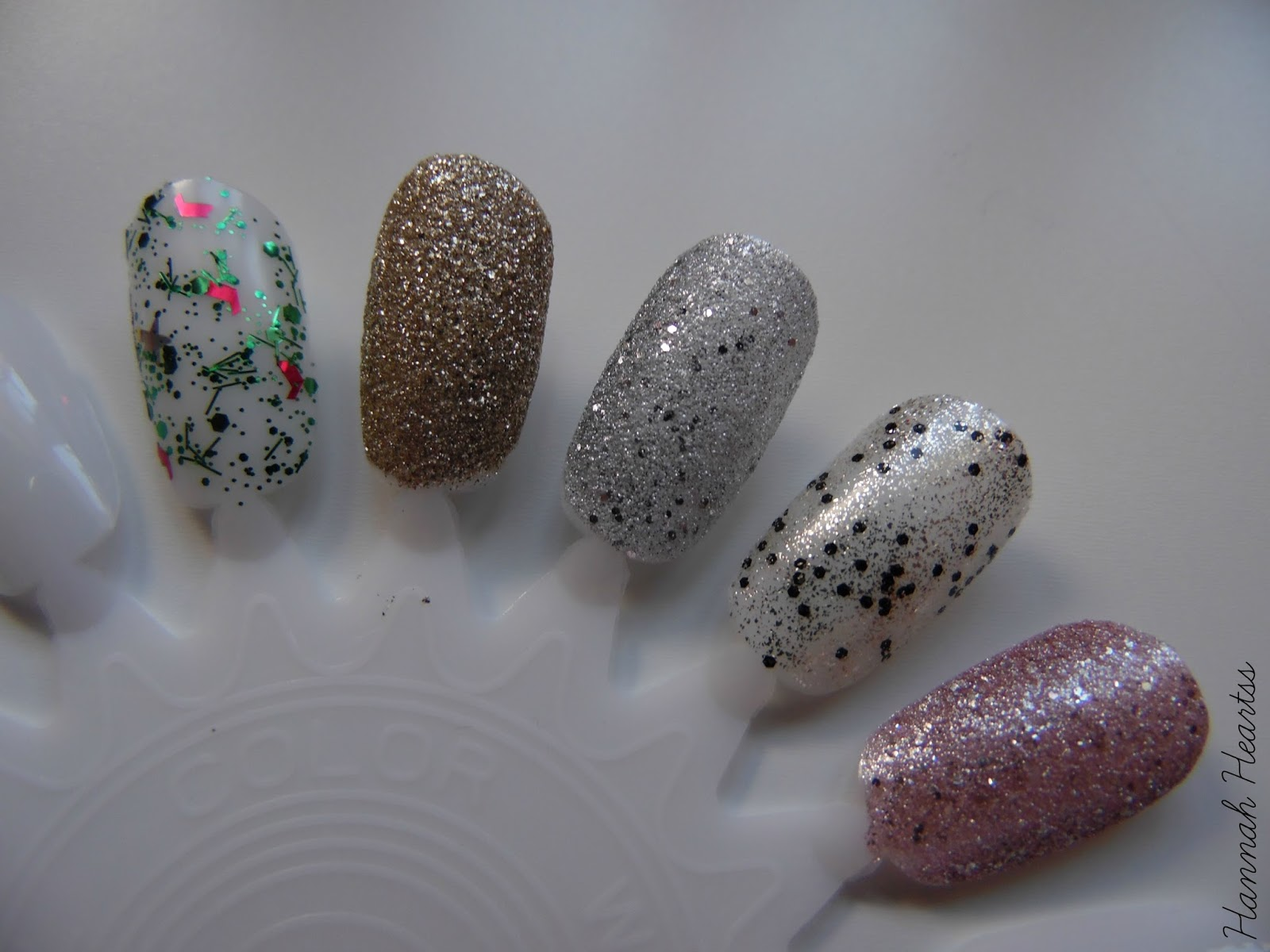 Top 5 Glitter Nail Polishes Swatches