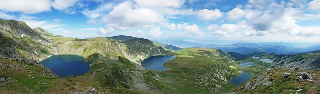 Los Siete Lagos de Rila, Bulgaria, turismo, parque nacional de Rila.