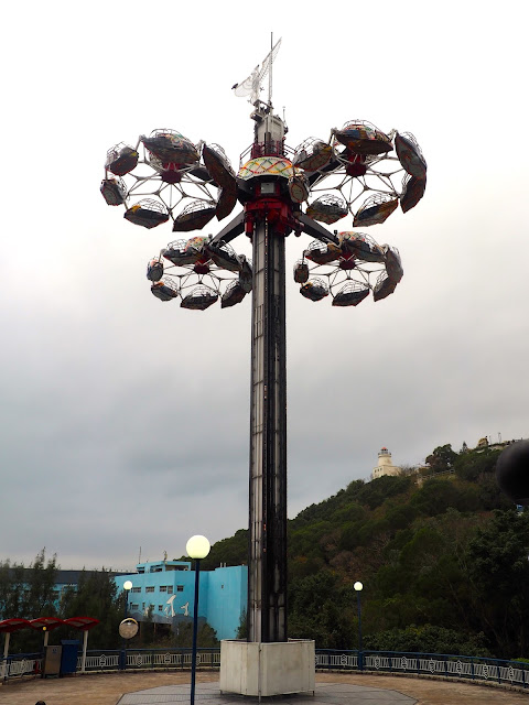 The Eagle ride, Ocean Park, Hong Kong