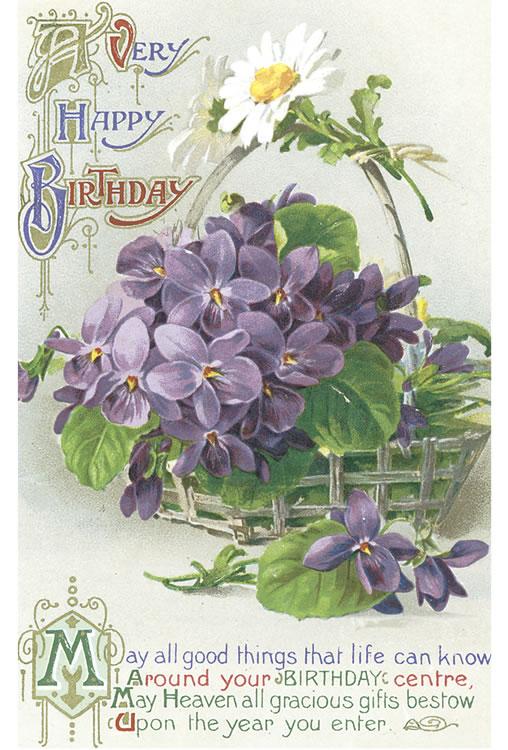 free victorian birthday clip art - photo #48