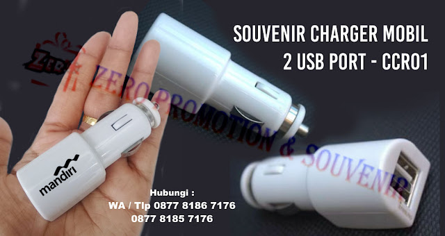 Car Charger CCR-01, Travel Adapter CCR01, Universal Travel Adapter Promosi CCR01, colokan Travel & Tools, 2 USB PORT CAR CHARGER CCR01