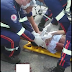 Homem fica gravemente ferido em acidente de trânsito na BR 230 em cajazeiras