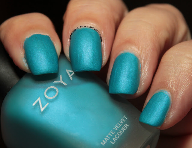 Zoya Phoebe | 31 Days of Blue for Huntington's Awareness