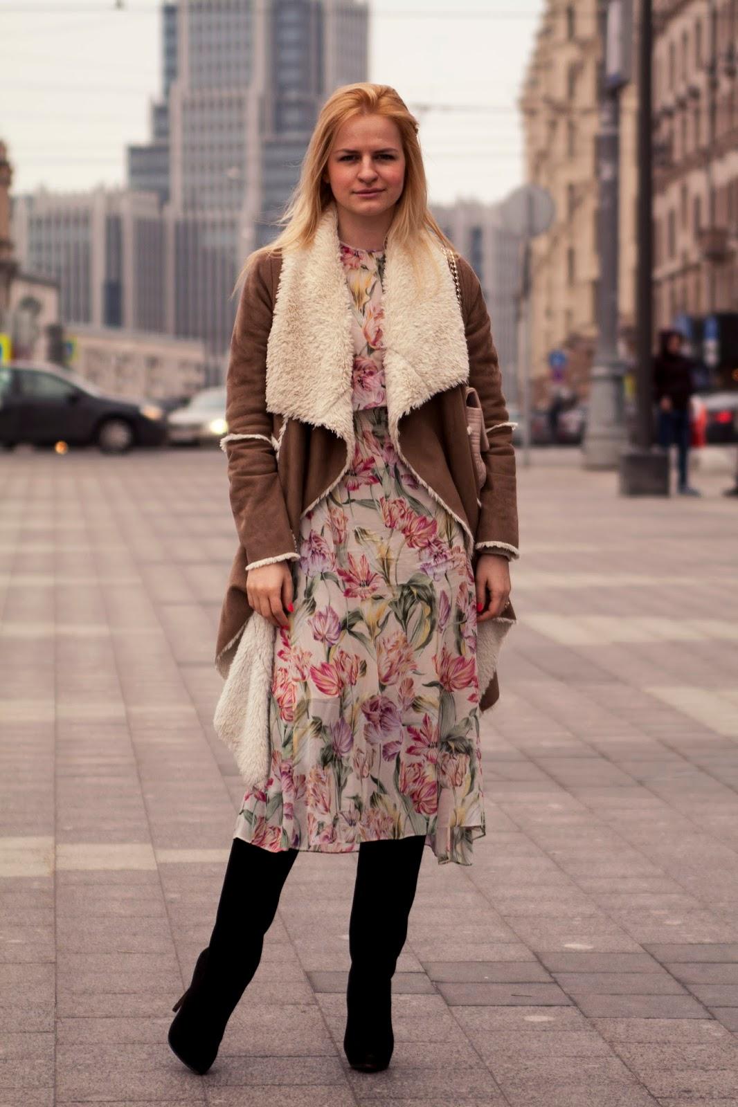 тенденции моды весна 2016, романтичная мода, уличная мода 2016, модные луки