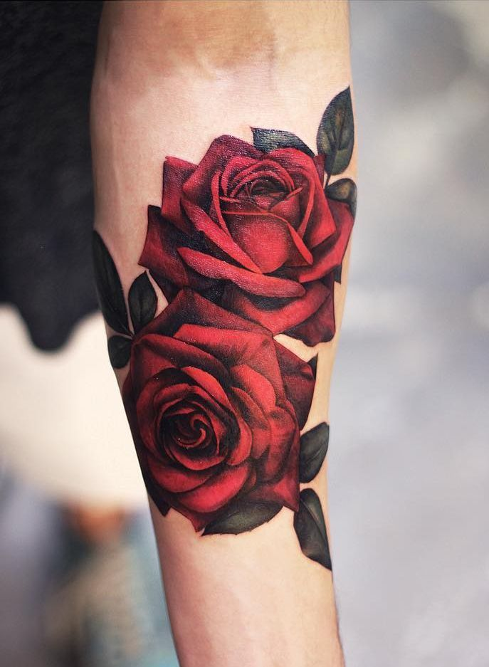 200 Meaningful Rose Tattoo Designs For Women And Men 2019