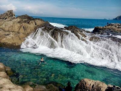 obyek wisata pantai wedi ombo gunung kidul yogyakarta