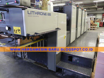 Komori 428 Lithrone 4 Color
