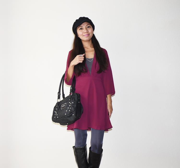 The Budget Fashion Seeker - TOBI Take it Slow Skater Skirt 3