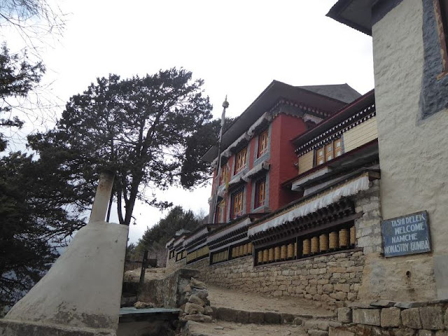 il monastero di namche