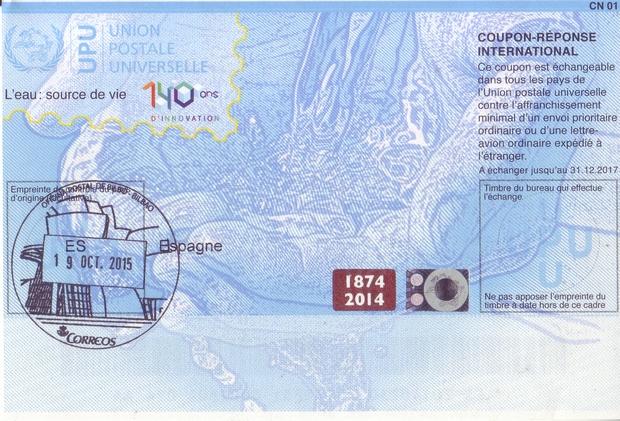 Irc international reply coupons italia