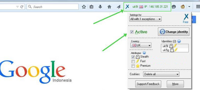 Add On Anonymox Untuk Buka Situs Terblokir