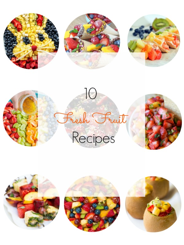 Fresh fruit recipes round up - Ioanna's Notebook