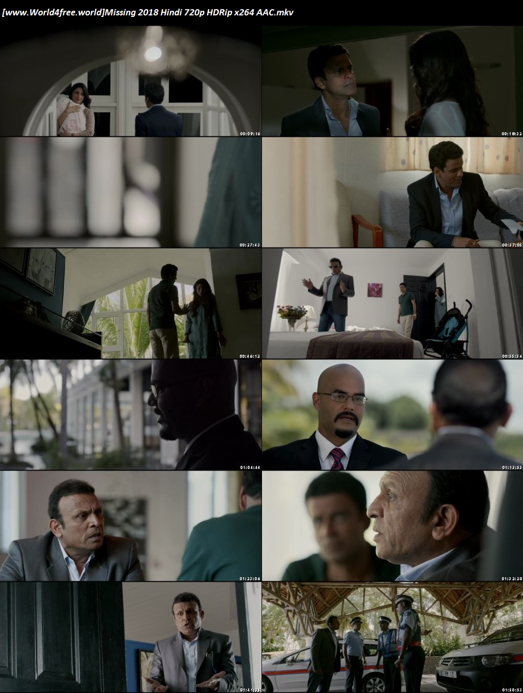 Screen Shoot Of Missing 2018 Full Hindi Movie Download480p HDRip 350MB