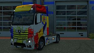 Romania skin for Mercedes MP IV