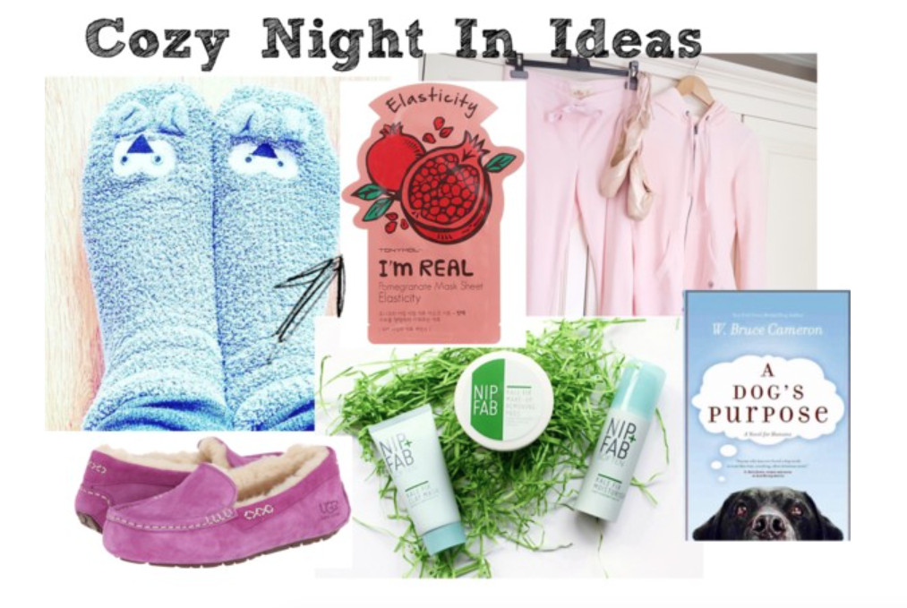 It's a snuggle up kinda day // Cozy Night In Ideas