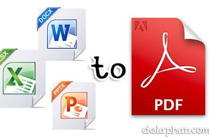 Cara Save As ke PDF di Mic.Word, Excel, PowerPoint