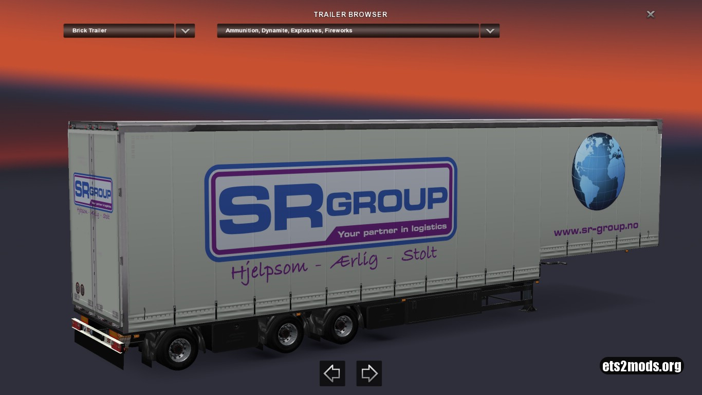 Jumbo Trailer SR Group Schwarzmuller