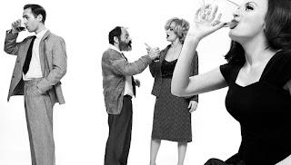 """""""Ποιος φοβάται τη Βιρτζίνια Γουλφ;"""" του Έντουαρντ Άλμπυ, σε σκηνοθεσία Μαρίας Πανουργιά."""