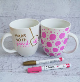 Decorate A Mug With A Sharpie
