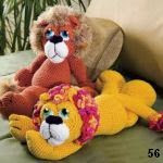 patron gratis leon amigurumi, free pattern amigurumi lion