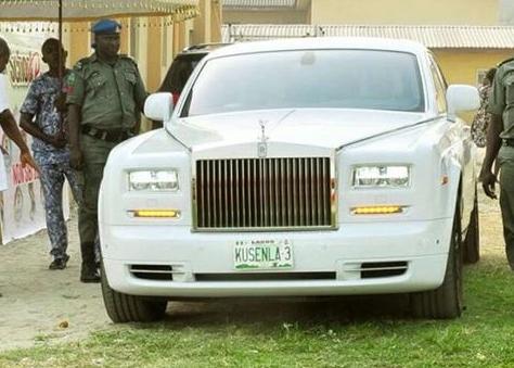 Oba Saheed Elegushi Buys Bulletproof Rolls Royce Gushi (Photos)