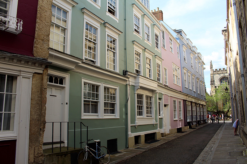 Oxford, England, UK, pastel houses, best things to see in oxford uk, Oxford university,
