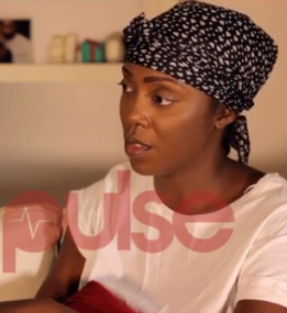 Tiwa Savage cries (video) : i have never in any time cheat on my husband
