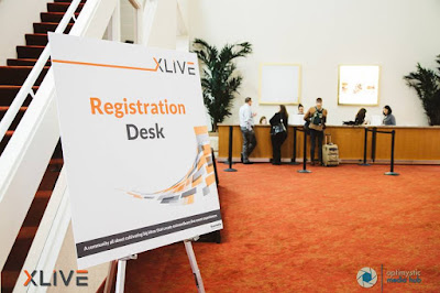 XLIVE 2016 Expo Registration Desk