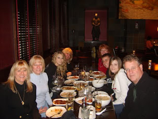 taylor family at Out to Dinner
