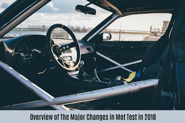 Overview of The Major Changes in Mot Test in 2018