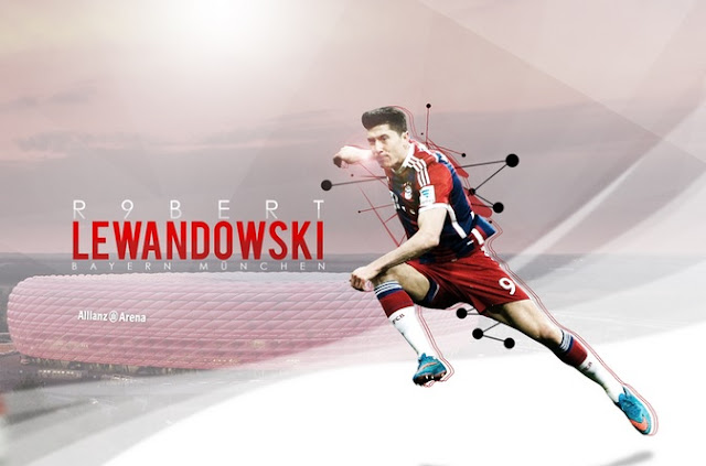 Robert Lewandowski 2015 HD Image