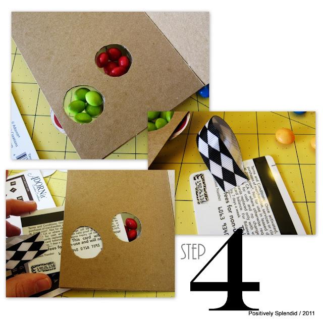 Positively Splendid Crafts: Sliding Door Gift Card Holders
