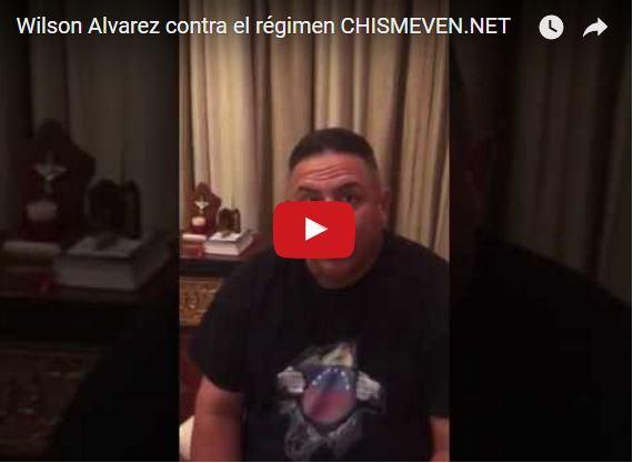 Beisbolista Wilson Álvarez le envía mensaje a Maduro