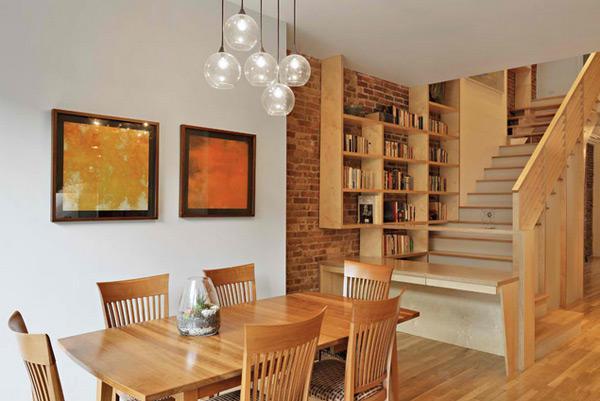 Ruang Tamu dengan Sentuhan Desain Kayu  Rancangan Desain Rumah Minimalis