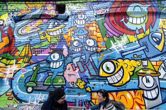 Grafiti en Vulkan - Oslo, por El Guisante Verde Project